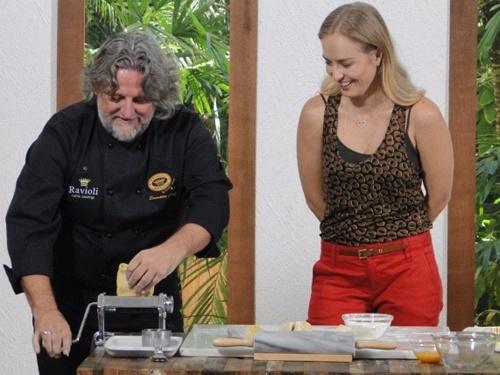 Angélica recebe o chef paulistano Roberto Ravioli no