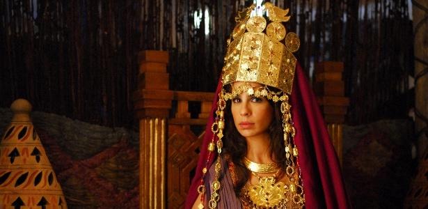 """Maria Ribeiro em cena de """"rei Davi"""" (novembro/2011)"""