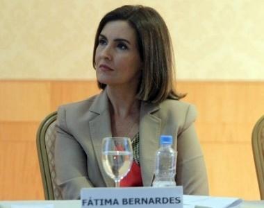 Fátima Bernardes durante coletiva de imprensa nesta sexta (1)