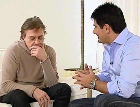 César Filho entrevista Fábio Jr. no especial do