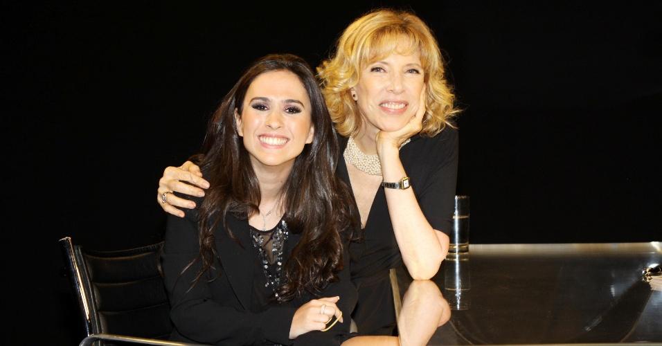 Marília Gabriela entrevista a humorista Tatá Werneck (21/12/11)
