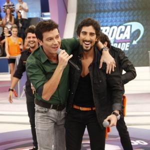 Rodrigo Faro e Marcos Mion poderão apresentar novos festivais da Record