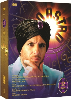 """Caixa do DVD de """"O Astro""""; preço sugerido é de R$ 159,90"""