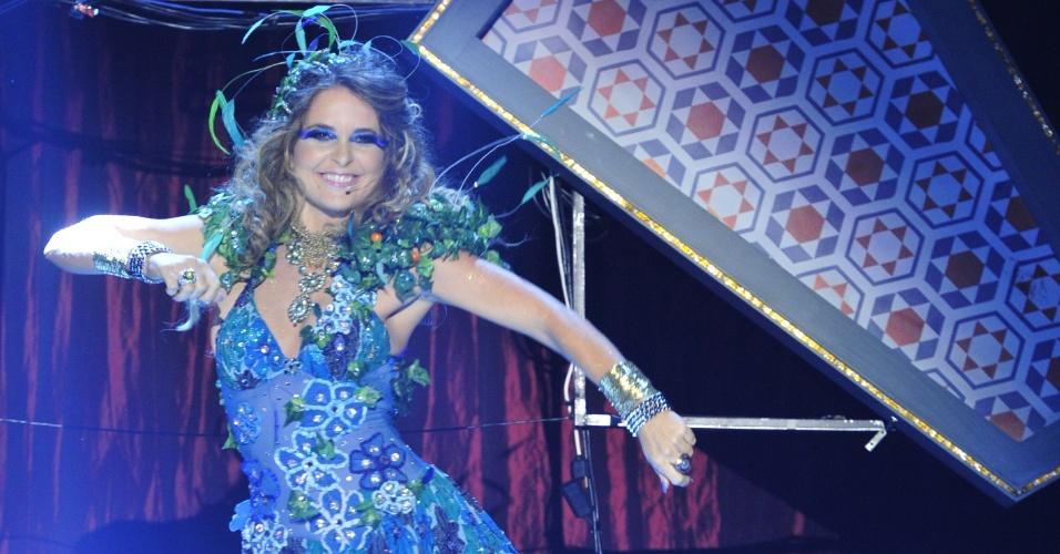 Cláudia Abreu durante gravação da próxima trama das sete no Rio (7/2/12)