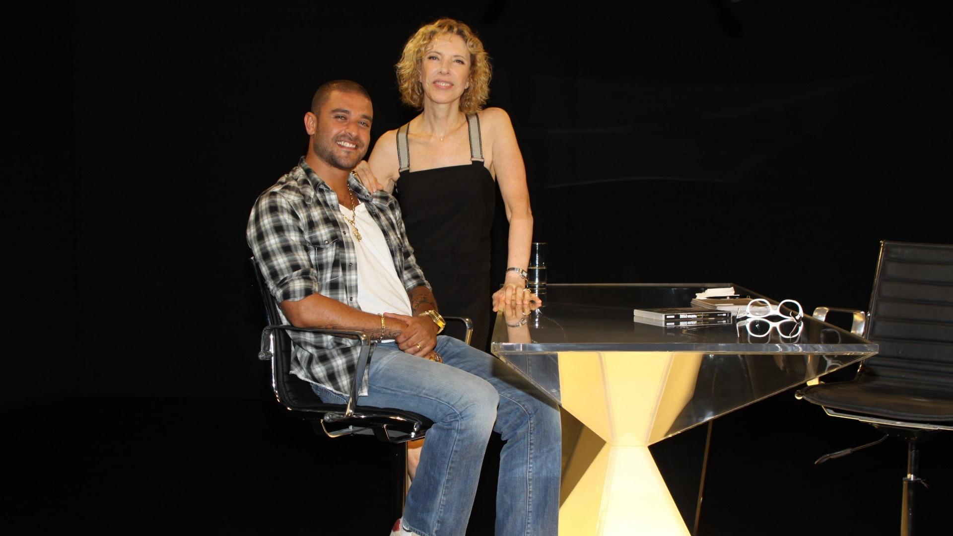 Marília Gabriela entrevista Diogo Nogueira no