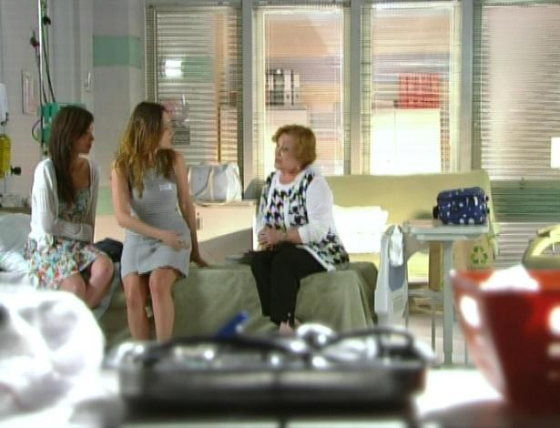 Iná diz que agora elas não devem contar tanta coisa para Eva, e nunca esperar que ela mude, para que elas possam ser feliz