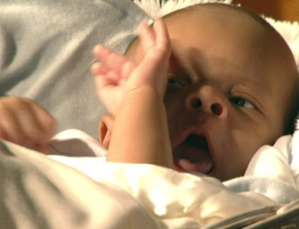 O bebê de Celina