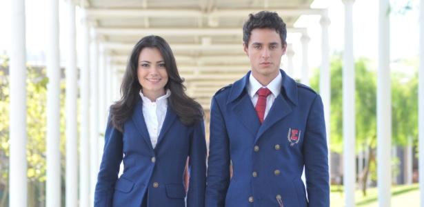 Ully Lages e Thiago Amaral são Lucy e Miguel, respectivamente, em Rebelde