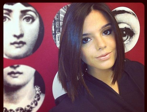 Giovanna Lancellotti muda o visual para novela