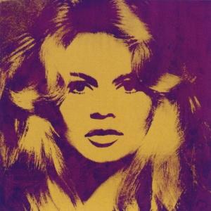 Brigitte Bardot em pintura de Andy Warhol (12/3/2012) - EFE