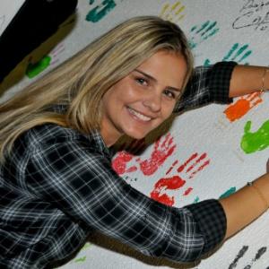 Milene Domingues na campanha Emagrecimento Solidário (1/7/11)