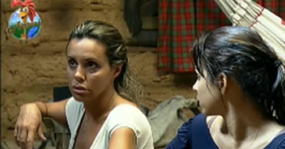 Renata Banhara diz que vai deixar o reality (26/7/11)