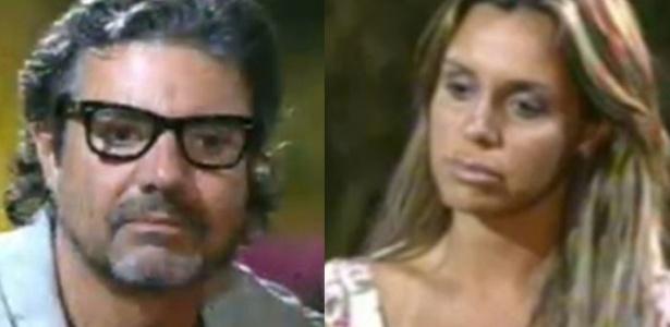 Renata Banhara e João Kléber estão na Roça