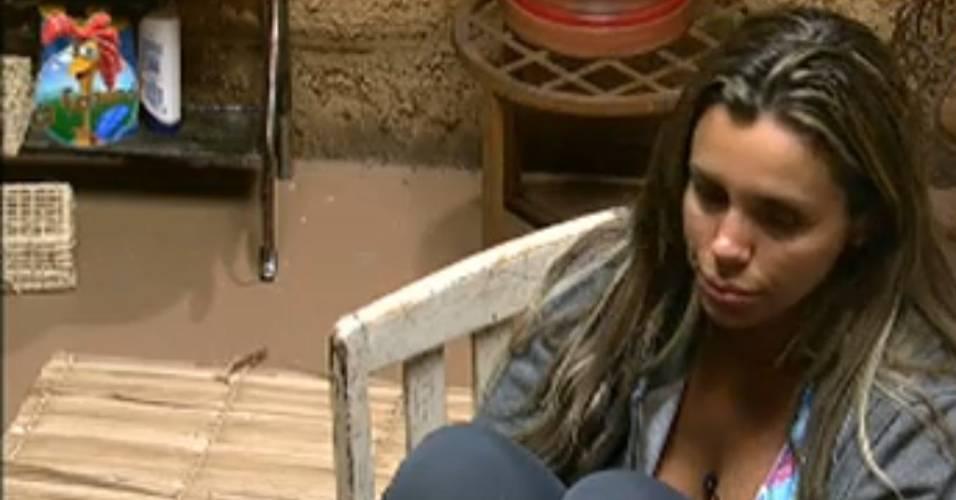 Renata Banhara conta que ficou constrangida com comportamento de João Kléber (27/7/11)