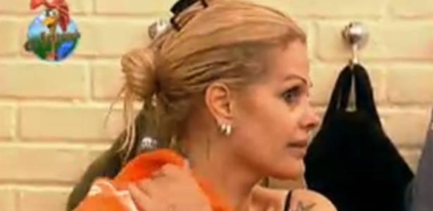 Monique Evans afirma que será indicada para a Roça (28/07/11)