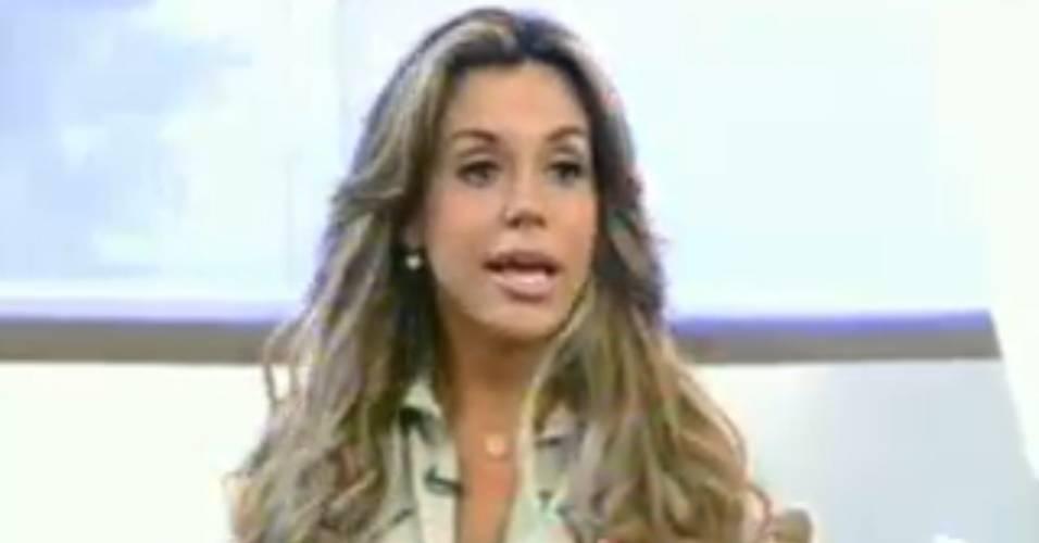 Renata Banhara comenta sua participação em