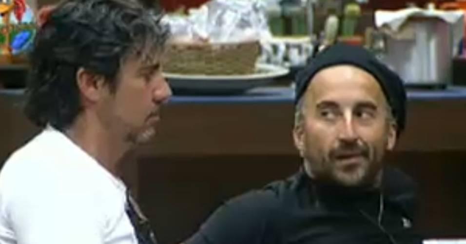 João Kléber e Gui Pádua foram os que mais criticaram Monique Evans (02/08/2011)