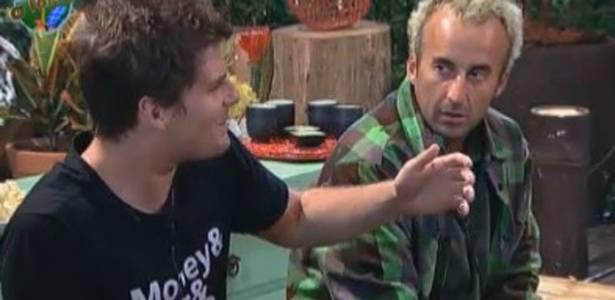 Thiago Gagliasso e Gui Pádua falam sobre Duda (08/08/11)