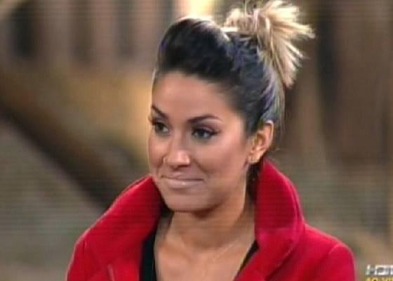 Dani Bolina ficou apenas duas semanas no reality (25/8/2011)