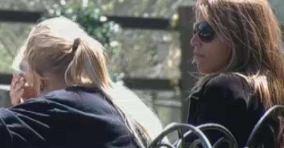 Monique chora e Raquel a consola (02/9/11)
