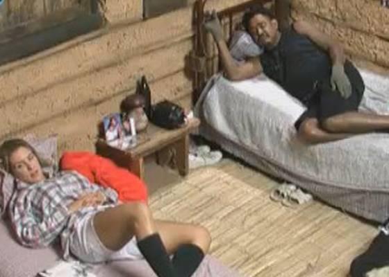 Joana e Compadre na casa da Roça (07/9/11)