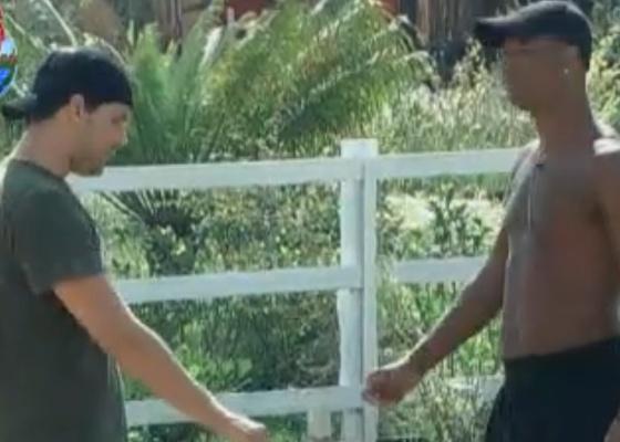 Thiago pede para Dinei conversar com Valesca (09/9/11)