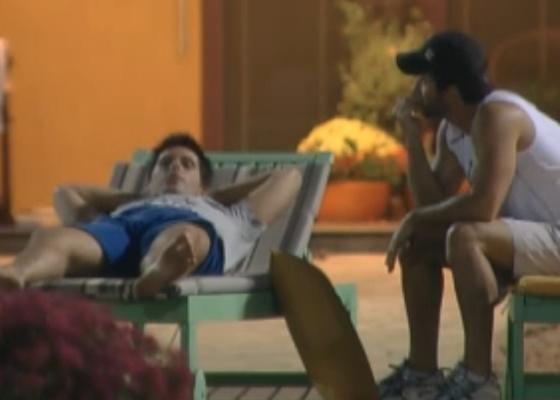 Thiago Gagliasso e Marlon querem que roceiros vão embora (13/09/2011)