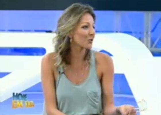 Namorada de Gui o defende no programa Hoje em Dia (14/9/11)