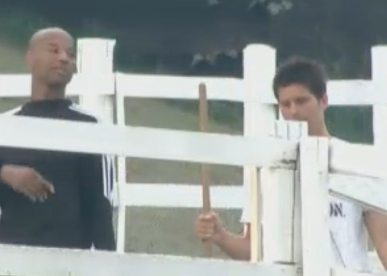 Dinei e Thiago resolvem respeitar voto de Marlon em Valesca (21/9/11)
