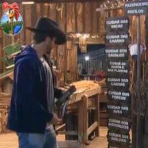 Marlon delega tarefas da semana (20/09/11)