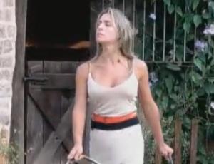 Joana Machado pode arrumar confusão na roça (23/09/2011)