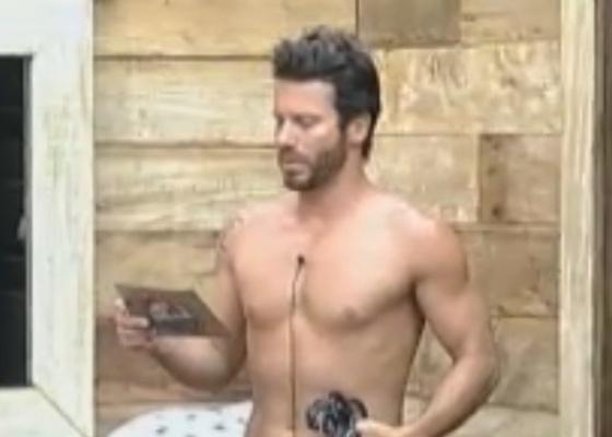 Marlon lê aviso de punição: peões ficarão 24 horas sem gás (23/9/11)