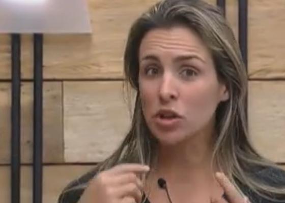 Joana Machado diz que Compadre deveria ter sido constante no jogo (24/9/11)