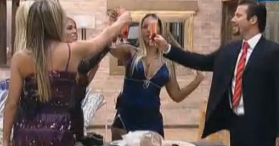 Peões fazem brinde em homenagem a Thiago (30/09/11)