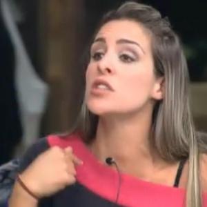 Joana Machado diz que Monique está jogando participantes uns contra os outros (03/10/11)