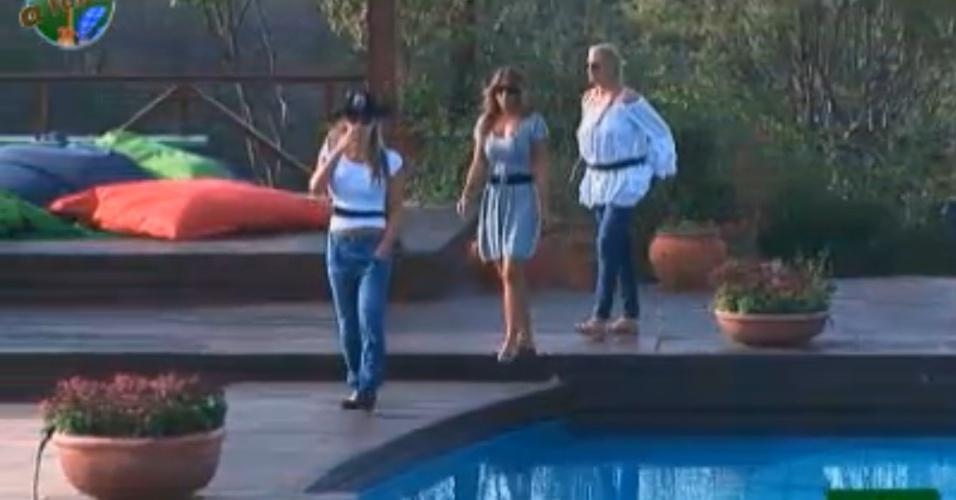 Joana, Raquel e Monique são as três finalistas do programa (12/10/11)