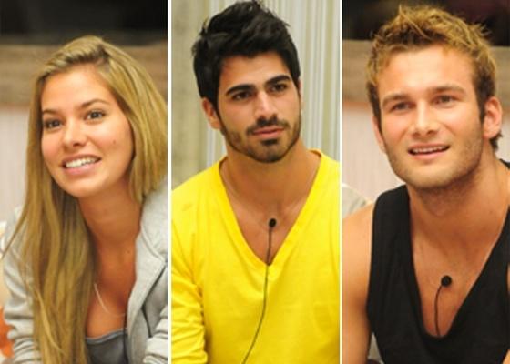 Adriana, Rodrigão e Wesley formam o 8º paredão (20/2/11)