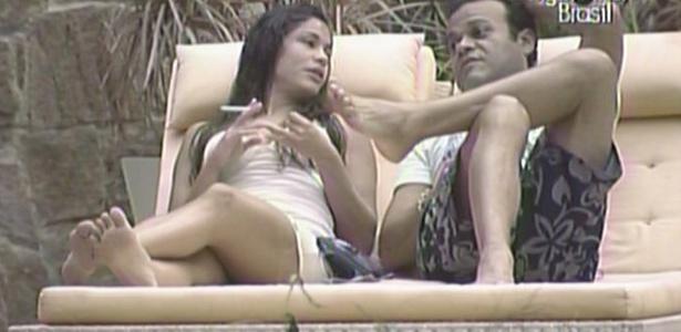 Maria diz a Daniel que, se o Bial perguntar, ela falará ao Brasil inteiro que votou em Mau Mau.
