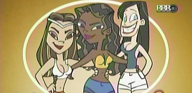 Avatar de Talula, Maria e Jaqueline mostra a união das amigas no programa (8/3/11)