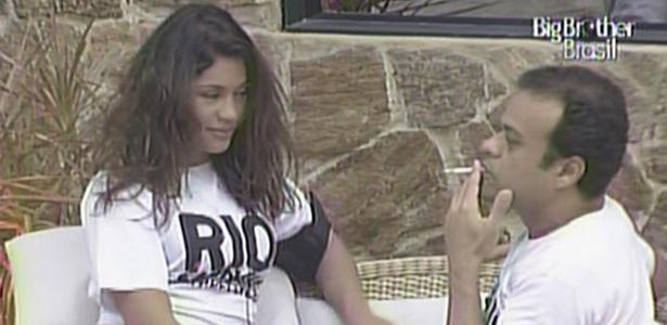 Maria e Daniel usam camisetas da campanha contra o preconceito no Carnaval do Rio de Janeiro (8/3/11)