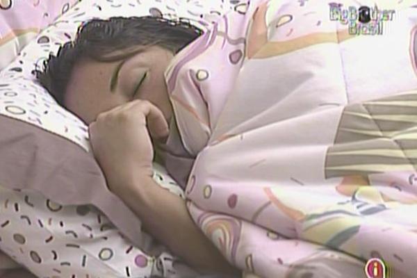 Maria dorme no quarto Jujuba (14/3/11)