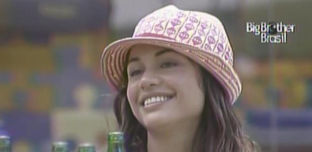 Maria sorri para Wesley durante almoço especial (14/3/11)