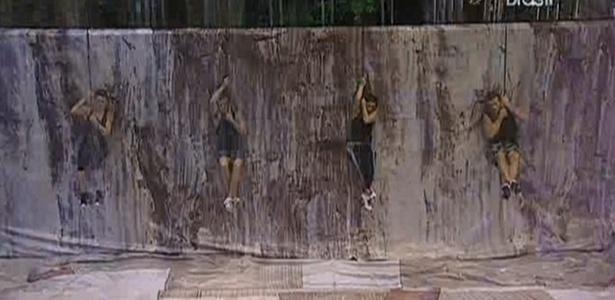 Diana, Daniel, Maria e Wesley também enfrentam chuva durante a prova de resistência (24/3/11)