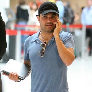 Luciano Camargo no Aeroporto Santos Dumont (3/3/11)