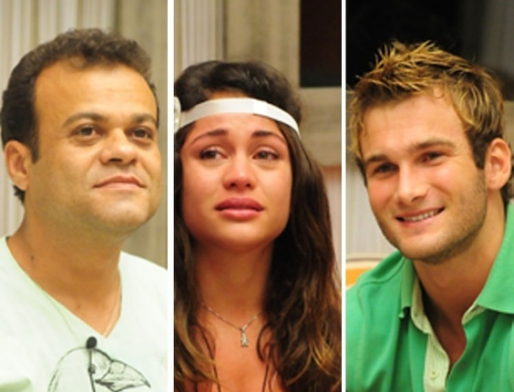 Daniel, Mari e Wesley estão na final do BBB11